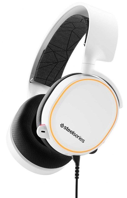 スティールシールズ(SteelSeries) 密閉型ゲーミングヘッドセット Arctis 5 2019 Edition