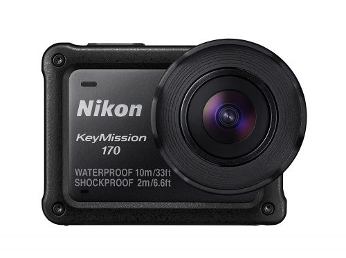 ニコン(Nikon) アクションカメラ KeyMission 170 BK