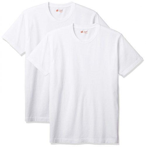 ヘインズ(Hanes) Tシャツ ジャパンフィット クルーネック 2枚組