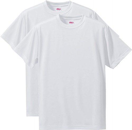 ユナイテッドアスレ(United Athle) ドライ シルキータッチ Tシャツ 2枚セット
