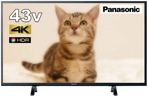 パナソニック(Panasonic) 43V型 HDR対応4K液晶テレビ VIERA TH-43FX500