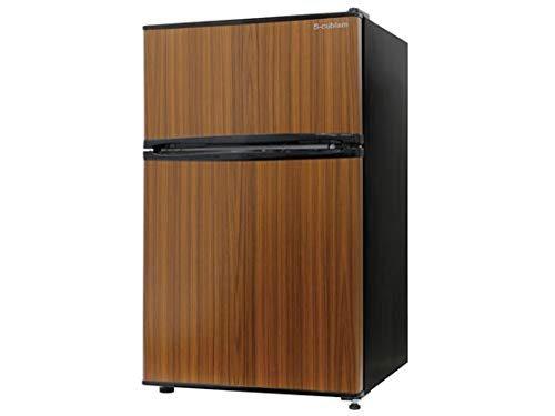 エスキュービズム(S-cubism) 冷蔵庫 RM-90L02