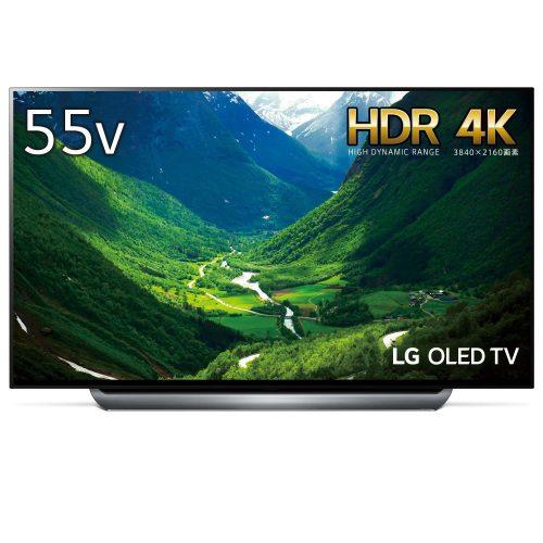 LGエレクトロニクス(LG Electronics) 55V型 有機EL 4Kテレビ OLED55C8PJA