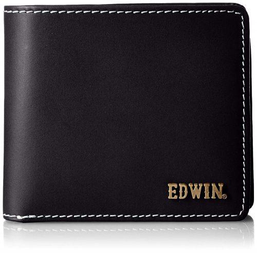 エドウィン(EDWIN) ボンデッドレザー二つ折り財布