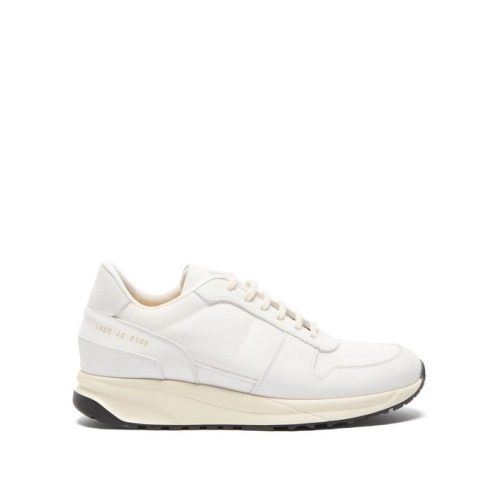コモン プロジェクト(Common Projects) Low-top mesh and nubuck trainers