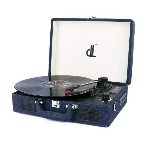 D&L SOUL マルチレコードプレーヤー スーツケース型 DL-636BP