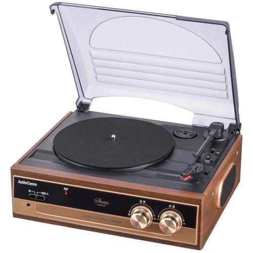 オーム電機(OHM) レコードプレーヤーシステム RDP-B200N