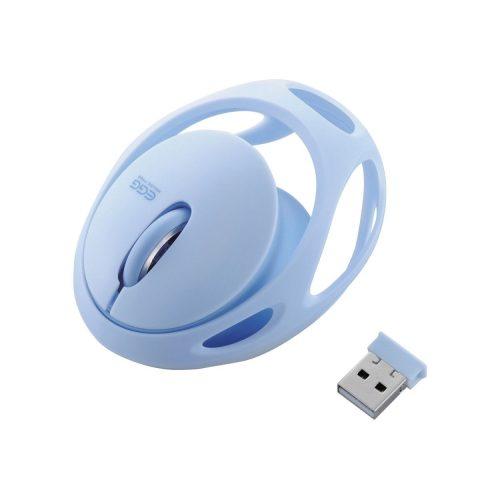 エレコム(ELECOM) ワイヤレスマウス EGG MOUSE FREE M-EG30DRBU