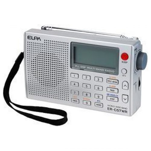 エルパ(ELPA) ワールドラジオ ER-C57WR