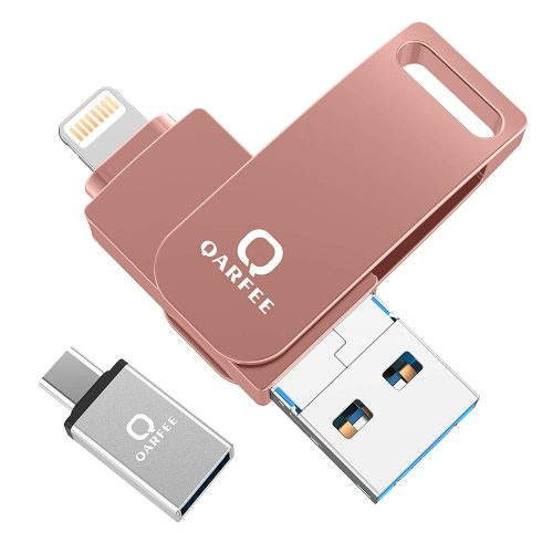 Qarfee 4in1 iPhone対応USBメモリ UD60-64PK