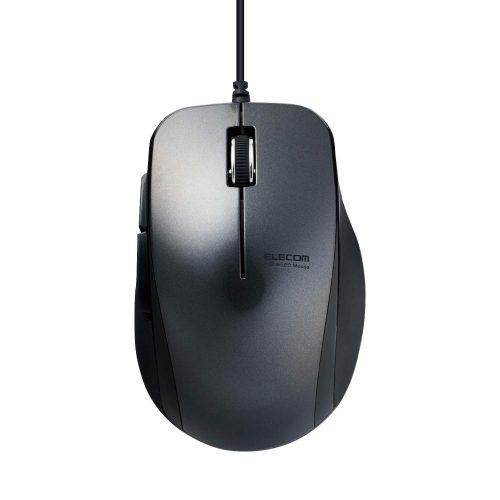エレコム(ELECOM) 有線5ボタンマウス M-BL28UBX
