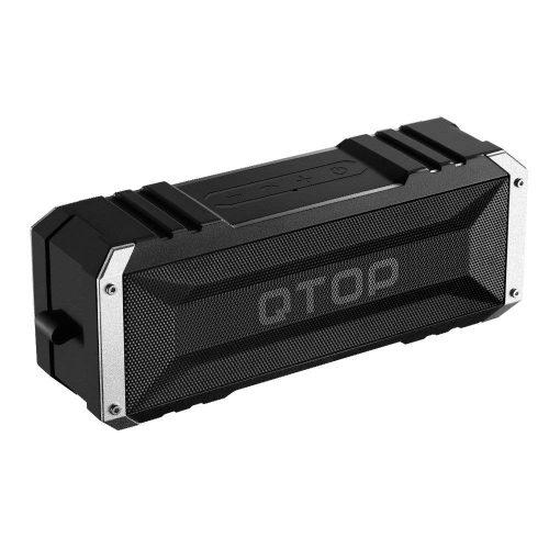 Qtop デュアルドライバーBluetoothスピーカー QTBS008AB