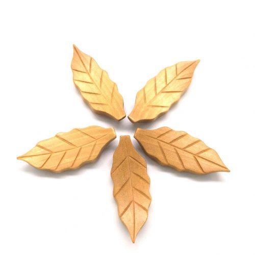Tribetter 天然木箸置き 5個セット
