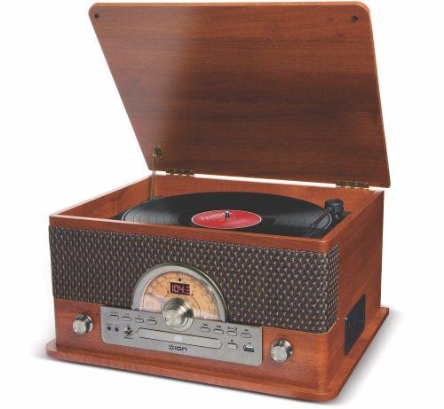 アイオンオーディオ(ION Audio) レトロ調ミュージックプレーヤー Superior LP