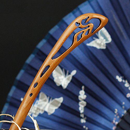 コムオン(KOMUON) 桃の木製簪