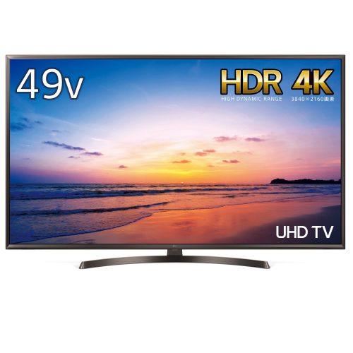 LGエレクトロニクス(LG Electronics) 4K対応液晶テレビ 49UK6300PJF 49V型