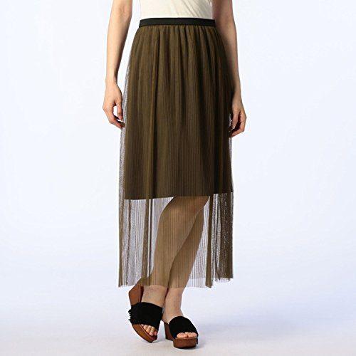 ノーリーズ(NOLLEY'S) チュールプリーツスカート