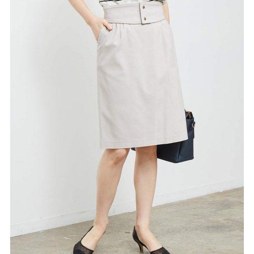 ロペピクニック(ROPE' PICNIC) ベルト付きタイトスカート