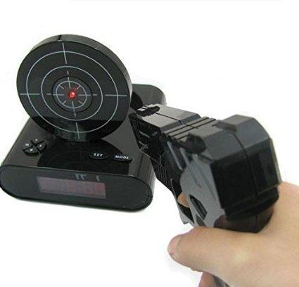 コムショット Gun Alarm Clock MI-GUNCLO