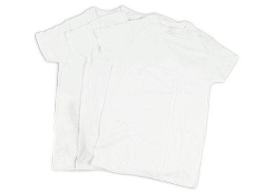 フルーツオブザルーム(FRUIT OF THE LOOM) 3パック クルーネックTシャツ ホワイト
