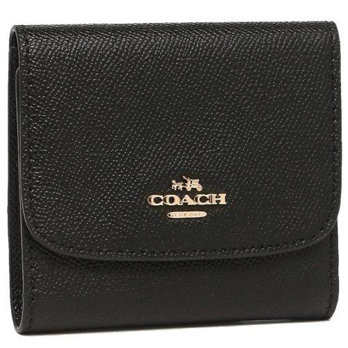 コーチ(COACH) 財布 三つ折り ミニ コンパクト レザー