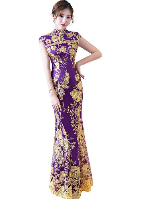 上海物語 マーメイドチャイナドレス