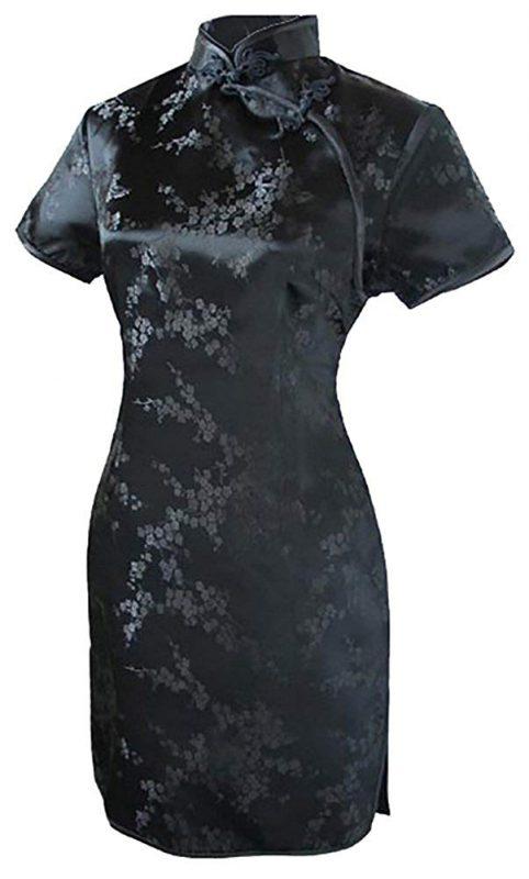 セブンフェアリー(7Fairy) ブラックチャイナドレス
