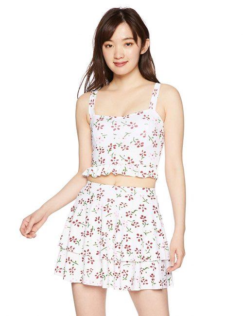 エンジェルルナ(Angel Luna) レディース タンキニ スカート付