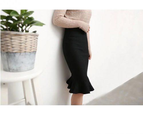 エルクリエイション(L-creation) フリルタイトスカート