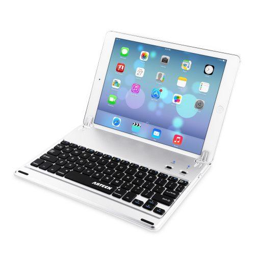 Arteck iPad 9.7 Bluetoothキーボードカバー HB065