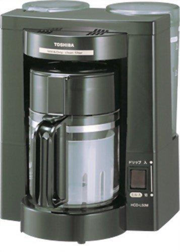東芝(TOSHIBA) コーヒーメーカー HCD-L50M
