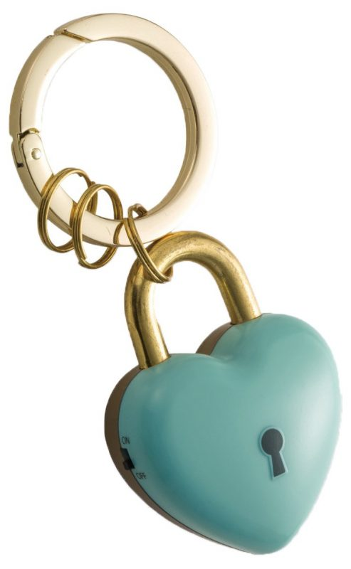 アスカ(ASKA) プリンセス防犯ブザー ハートの鍵 ミント GE078B