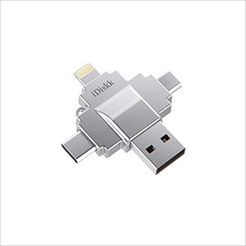 iDiskk カードリーダー 4in1 4589542631737