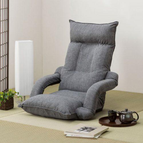 ニトリ(NITORI) ひじまでフラットになる 低反発座椅子