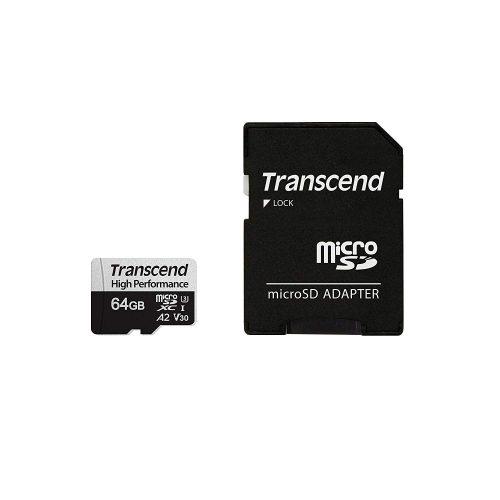トランセンド(Transcend) microSDXCカード High Performance 64GB TS64GUSD330S