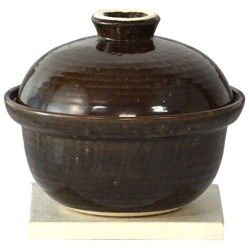 長谷園 いぶしぎん 燻製土鍋 ミニ