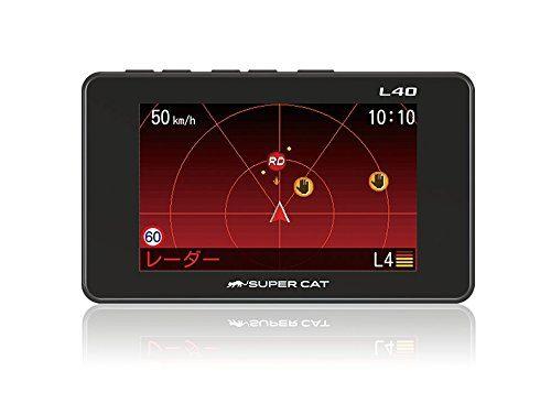 ユピテル(YUPITERU)  GPS&レーダー探知機 SUPER CAT L40