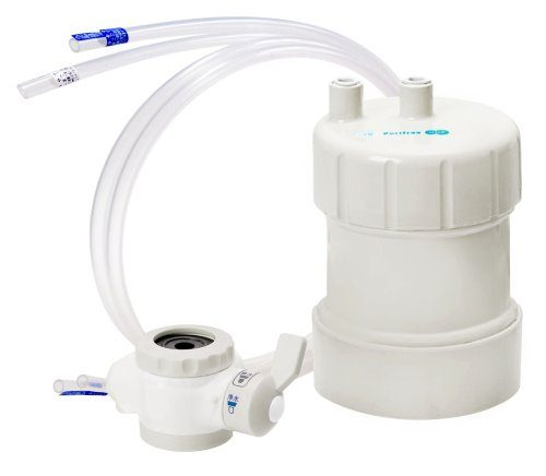 キッツ マイクロフィルター 浄水器 ピュリフリー ホワイト PF-W4