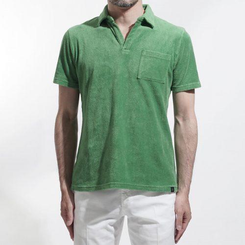 ラルディーニ(LARDINI) スキッパーポロシャツ
