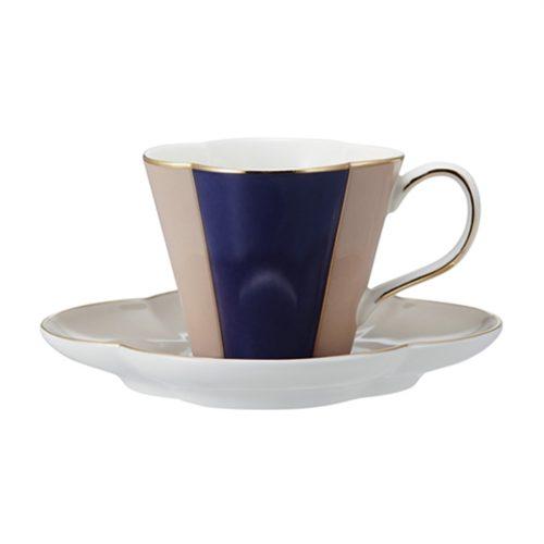 フランフラン(Francfranc) エミリア カップ&ソーサー ネイビー
