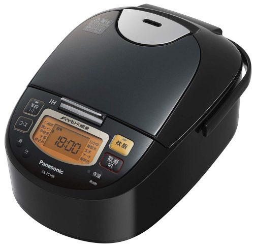 パナソニック(Panasonic) 炊飯器 5.5合 IH式  SR-FC108-K
