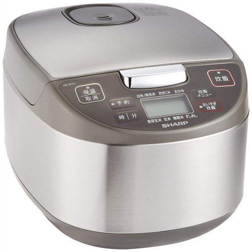 シャープ(SHARP) 炊飯器 マイコン方式 5.5合 KS-S10J-S