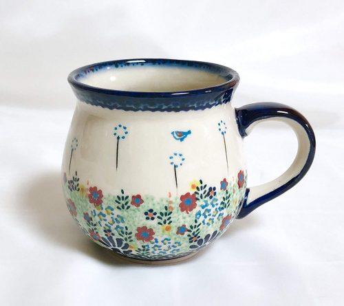 ポーリッシュポタリー(Polish Pottery) 野の花 マグカップ