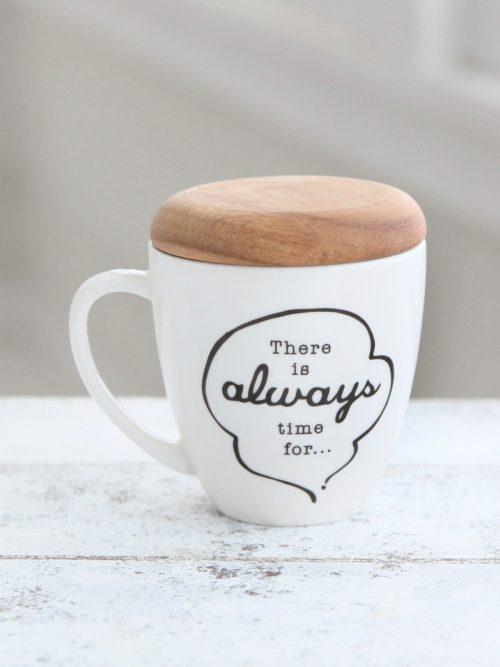 アフタヌーンティー リビング(Afternoon Tea LIVING) 蓋付きマグカップ
