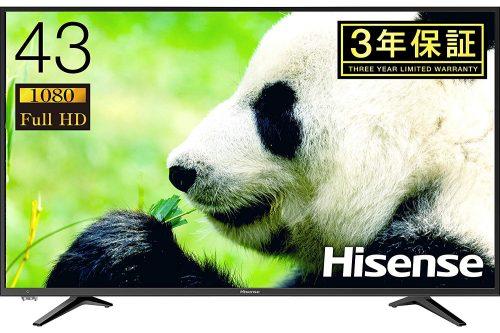 ハイセンス(Hisense) 43A50 43インチ