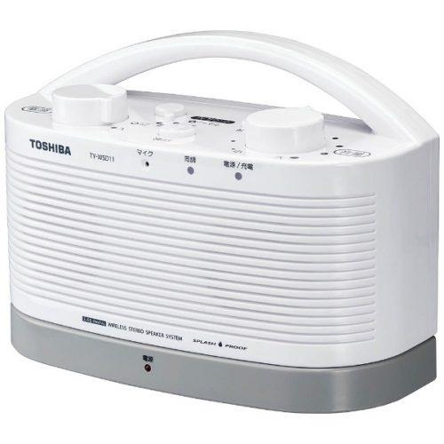 東芝(TOSHIBA) 防水対応テレビ用ワイヤレススピーカーシステム TY-WSD11-W