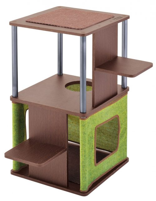 ペティオ (Petio) necoco ネココ キャットリビングタワー ロータイプ
