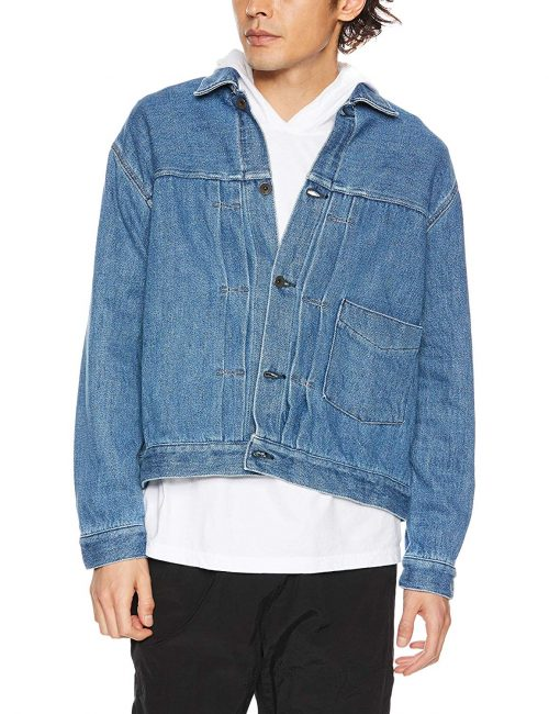 クロ(KURO) BIG DENIM JACKET HERITAGE WASH 02