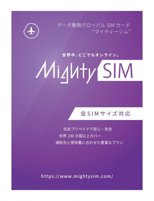 eConnect Japan 株式会社 MightySIM