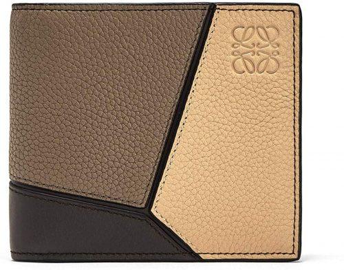ロエベ(LOEWE) パズル レザー 二つ折り財布 124 12 302